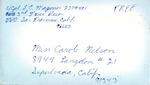 Carole Nelson Vietnam War Correspondence #15