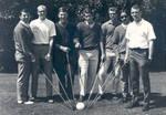 Golf team in the 1970s at Chapman College, Orange, California