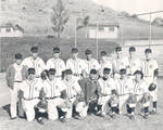 Chapman College baseball team for the 1954-1955 season, with coach Don Perkins