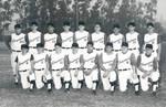 Chapman College baseball team, Orange, California, 1964