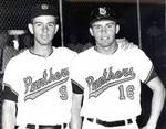 Jim Hanis and Tony Spano, Chapman College baseball team, Orange, California