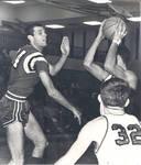 Gary Larsen, Chapman College basketball team member, Orange, California, 1966