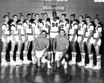 Chapman College Panthers Basketball Team, Orange, California, 1963
