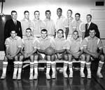 Chapman College Panthers Varsity Basketball Team, Orange, California, 1962