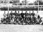 Soccer team, Chapman College, Orange, California, 1974