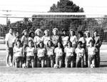 Women's soccer team, Chapman College, Orange, California