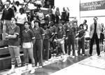 Women's basketball team, Chapman College, Orange, California, 1984