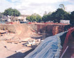 Beckman Hall construction