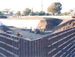 Building foundation of Beckman Hall