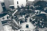 Dedication ceremony for Moulton Hall, Chapman College, Orange, California