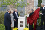 Unveiling of the George P. Shultz Bust