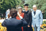 Commencement day, Chapman College,   1986