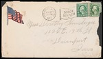 Dorothy Hornberger First World War Correspondence #03