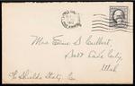 Elmo Culbert First World War Correspondence #04