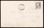 Elmo Culbert First World War Correspondence #09