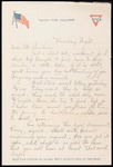 Elmo Culbert First World War Correspondence #14
