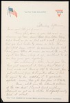Elmo Culbert First World War Correspondence #15