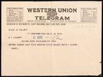 Elmo Culbert First World War Correspondence #17