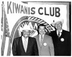 Emmett at the Kiwanis Club