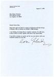 Emmy Temianka Correspondence; (Menuhin) by Yehudi Menuhin