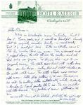Emmy Teminaka Correspondence; (Cowden)