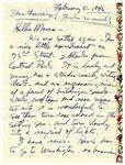 Emmy Temianka Correspondence; (Cowden) by Emmy Temianka