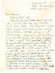 Emmy Temianka Correspondence; (Cowden)