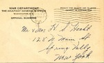 Frederick Hecht Correspondence #01 by Frederick Hecht