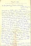 Frederick Hecht Correspondence #10