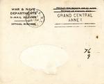 Harold J. Glickman World War Two Correspondence #1 by Harold J. Glickman