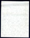 James B. Safford Civil War Correspondence #01 by James Broderick Safford