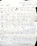 James B. Safford Civil War Correspondence #03 by James Broderick Safford