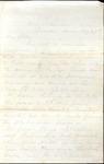 James B. Safford Civil War Correspondence #08 by James Broderick Safford