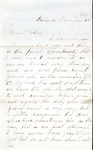 James B. Safford Civil War Correspondence #10