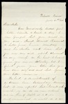 James B. Safford Civil War Correspondence #13