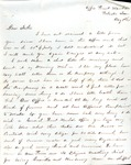 James B. Safford Civil War Correspondence #15 by James Broderick Safford