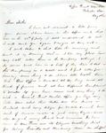 James B. Safford Civil War Correspondence #15