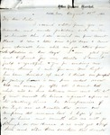James B. Safford Civil War Correspondence #16