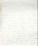 James B. Safford Civil War Correspondence #17