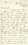 James B. Safford Civil War Correspondence #18