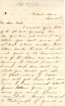 James B. Safford Civil War Correspondence #19