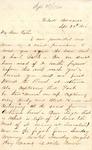 James B. Safford Civil War Correspondence #20
