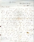 James B. Safford Civil War Correspondence #21 by James Broderick Safford