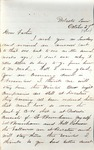 James B. Safford Civil War Correspondence #22