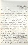 James B. Safford Civil War Correspondence #22