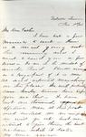 James B. Safford Civil War Correspondence #24