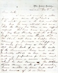 James B. Safford Civil War Correspondence #25