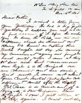 James B. Safford Civil War Correspondence #26
