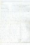 James B. Safford Civil War Correspondence #27
