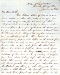 James B. Safford Civil War Correspondence #31